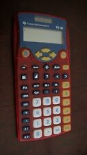 1 NEW TEXAS INSTRUMENT 10/BK/C  Elementary Basic Calculator