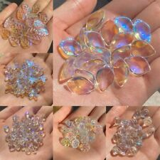 Crystal Beads 20pcs Glass Star Heart Leaves Shape For Jewelry Making Accessories