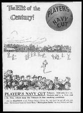 1897 Antique ADVERTISING Print - Players Navy Cut Cigarette Tobacco (02)