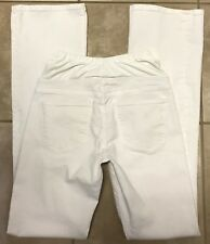 Citizens of Humanity COH Maternity Bootcut White Jeans size 26 x 34