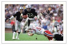 MARCUS ALLEN LA RAIDERS SIGNED PHOTO AUTOGRAPH PRINT NFL FOOTBALL