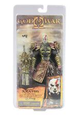 God of War 2 II Figura buena calidad NECAKratos in Ares Armor W Blades 18cm