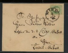 Austria   3kr  stamp   on  cover          MS0831