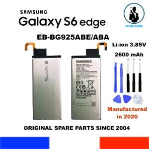 ORIGINAL BATTERY SAMSUNG GALAXY S6 EDGE EB-BG925ABE EB-BG925ABA 2600mAh SM-G925
