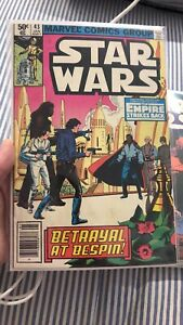 Star Wars Comic Book Marvel No 43 FN First Appearance