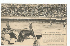 POSTCARD CORRIDA DE TOROS , BULLFIGHT