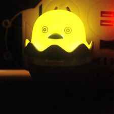 Yellow Duck LED Night Light Wall Lamp Kid Bedroom of Bed Lamp DecorationCA