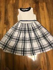 MONNALISA GIRLS FLORAL DRESS AGE 8 HEIGHT 128 100% COTTON
