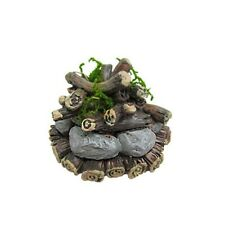 Miniature Campfire Bonfire For Woodland Fairy Garden Resin
