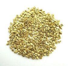 Alaskan Yukon BC  Gold Nuggets  #20 Mesh  1/10 Troy Oz 3.1 Grams or  2 DWT