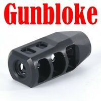 Muzzle brake M11-PLR 11/16x24 made to suit your calibre - GUNBLOKE