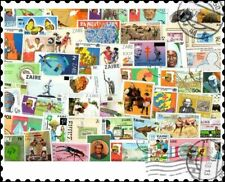 Zaire : 50 Different Stamps Collection