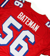 THE REPLACEMENTS MOVIE Jersey DANNY BATEMAN #56  RED  SEWN  NEW    ANY SIZE