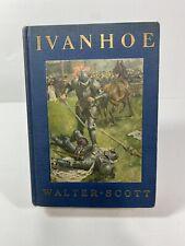 IVANHOE by Sir Walter Scott - 1935 Dodd, Mead & Company VINTAGE PUBLICATION