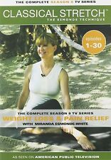 Classical Stretch Complete Season 9 DVD Miranda Esmonde Technique 4 Discs