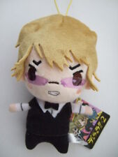 Shizuo Heiwajima Plush Figure Doll Stuffed Toy Durarara!! x2 FuRyu