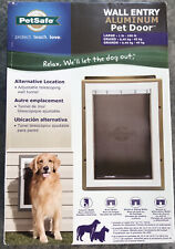 Wall Entry Aluminum Pet Door Large PetSafe PPA11-10917