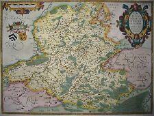 Nobilis Hannoniae Comitatus- Hennegau von Abraham Ortelius - Original 1579