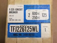 GE TFJ TFJ226125WL 2 pole 125 amp 600V Circuit Breaker