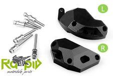 Motorschützer/Engine Frame Slider/Sturzpads Aluminium Kawasaki ZX10R