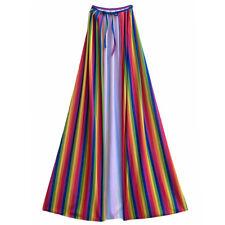 "48"" Adult Rainbow Cape ~ HALLOWEEN FANTASY, PRIDE, SUPERHERO COSTUME PARTY CAPE"