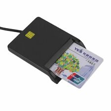 USB Smart Card Reader IC / ID Card Reader Plug And Play For PC Card Adapter MC