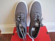 BNIB Puma men's athletic shoes, Benecio Drill Pack, steel grey, size 8.5, laces