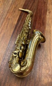Pre Owned KING Cleveland Alto Saxophone - 1950's - Repadded PERFECT - Ships FREE