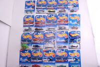 Vintage Hot Wheels Lot Of 20 Cars Different Series Mixed Models