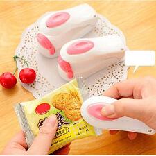 1pc Portable Mini Sealing Machine Snack Food Bag Seal Packing Plastic Bag Sealer