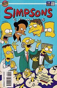 SIMPSONS COMICS #30 1997 BONGO COMICS MATT GROENING - FINE UNREAD CONDITION