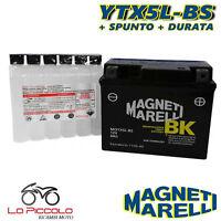 BATTERIA MAGNETI MARELLI YTX5L-BS SIGILLATA KYMCO Dink 4T 50 2007 2008 2009 2010