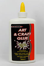 PVA Glue 300ml Bottle Art & Craft Safe Non-Toxic Washable Adhesive School  Kids