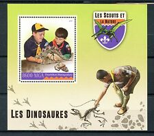 Madagascar 2016 neuf sans charnière scouts & nature dinosaures 1v s/s scout stamps