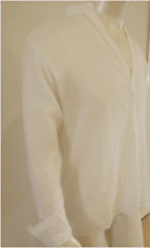 NWT-V-shape,Beige cheese cloth,l/s Kurta size M