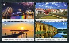 Taiwan China 2018 MNH Penghu County Scenery 4v Set Tourism Landscapes Stamps
