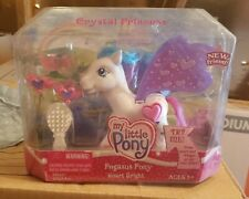 My Little Pony G3 Heart Bright Deluxe Pegasus Pony RARE Crystal Princess 2006