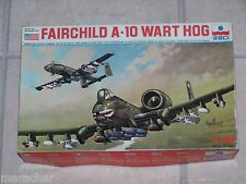 Maquette ESCI 1/48ème FAIRCHILD A-10 WART HOG n° 4070