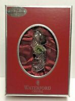 WATERFORD CRYSTAL Christmas Ornament Seahorse 2006 Enhancer Hanger ~ NEW in BOX