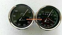 Smiths 120 mph Speedometer 8000 rpm Tachometer 80 mm fitment M18x1.5 thread