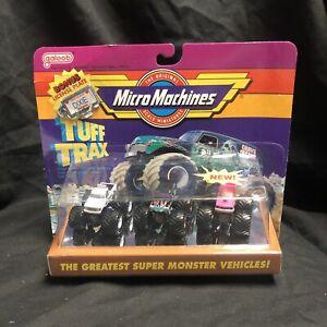 Micro Machines Tuff Trax Super Monster Trucks Grave Digger Galoob 1990
