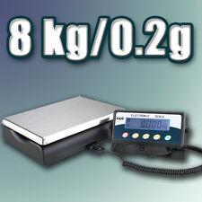 TCKP 8kg/0,2g Paketwaage Plattformwaage Digital-Waage industriewaage