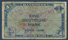 ALLEMAGNE - RFA - 1 DEUTSCHE MARK Pick n° 2 1949 en TB