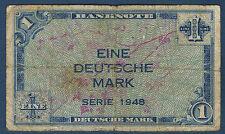 ALLEMAGNE - RFA - 1 DEUTSCHE MARK Pick n° 2 1949 en TB
