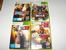 UFC 2012-W.12-MMA And Smackdown vs Raw 2009 4 Great Xbox 360 Games