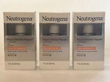 3 Neutrogena Rapid Wrinkle Repair SPF30 MOISTURIZERS 3 ITEMS  x 8/2020 Or Better