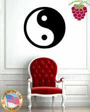 Wall Stickers Vinyl Decal Yin and Yang Opposites Round Chinese Symbol EM604