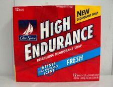 OLD SPICE HIGH ENDURANCE SOAP FRESH 12 BARS PER PACK *ORIGINAL FORMULA*