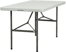 Lot of 10 5ft Bi-Fold Folding Banquet Catering Tables