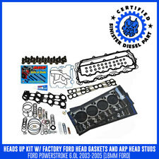 Sinister Diesel Heads Up Kit w/ Black Diamond Head Gaskets and ARP Head Studs